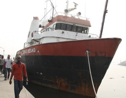 Long Island ship arrested by the Nigerian Navy and handed over to EFCC