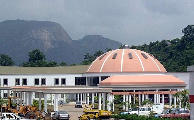 A leaked draft budget for 2016 showed the Nigerian government earmarked £16million for the refurbishment and maintenance of the president¿s official residence, Aso Rock Guest House, in the capital Abuja
