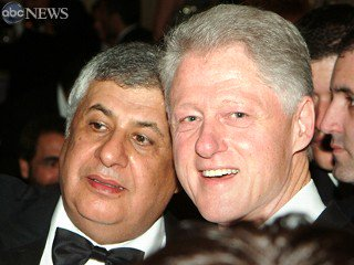 Gilbert Chagoury and Bill Clinton