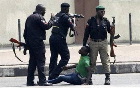 Image result for arrest police nigeria