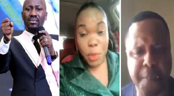 Alleged adultery Scandal: Apostle Suleman Reacts to IGP